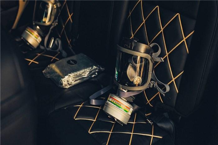 """قدرت جنگی، تجمل و تکنولوژی در خودروی شاسی بلند """"تانک"""" رضوانی (+عکس)"""