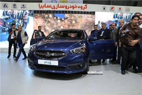 """نخستین خودرو ایرانی با پلتفرم طراحی شده در ایران معرفی شد؛ سایپا با """"رُهام"""" به شیراز آمد"""