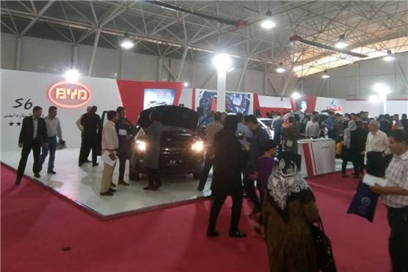 حضور پر قدرت خودروسازی کارمانیا در هفدهمین نمایشگاه شیراز