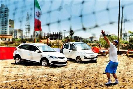 شرکت مدیران خودرو حامی برگزاری مسابقات تنیس ساحلی جایزه بزرگ مردان کشور