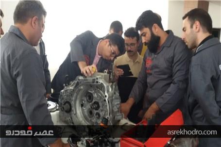 برگزاری دوره آموزش ویژه کارشناسان فنی نمایندگی های خدمات پس از فروش در مرکز آموزش خودروسازی کارمانیا