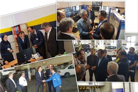 اردبیل، ایستگاه آخر بازدید تابستانی مدیران ارشد خدمات پس از فروش ایران خودرو
