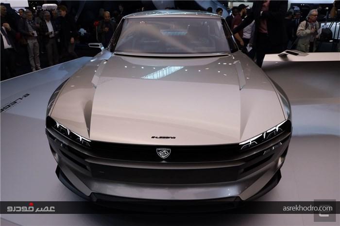 رونمایی پژو از خودروی جدید الکتریکی 456 اسببخاری در نمایشگاه پاریس 2018 (+عکس)