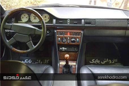 تجربه رانندگی با مرسدسبنز 230 CE مدل 1991