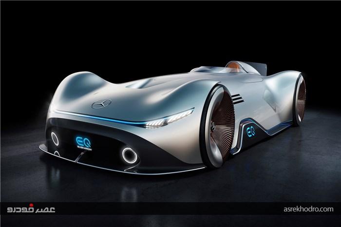 طرح اولیه خودروی آینده نگرانه مرسدس بنز