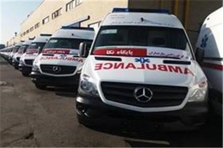 آمبولانس های پیشرفته ایران خودرو دیزل به ناوگان وزارت بهداشت پیوست
