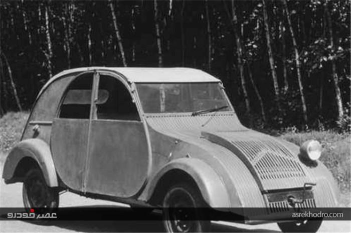 70 سال از رونمایی سیتروئن ژیان گذشت