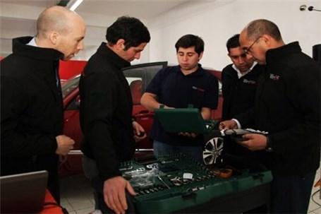 اعزام کارشناسان فنی مدیران خودرو به رقابت های بینالمللی چری