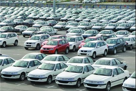 فنر قیمت ها در بازار خودرو در رفت