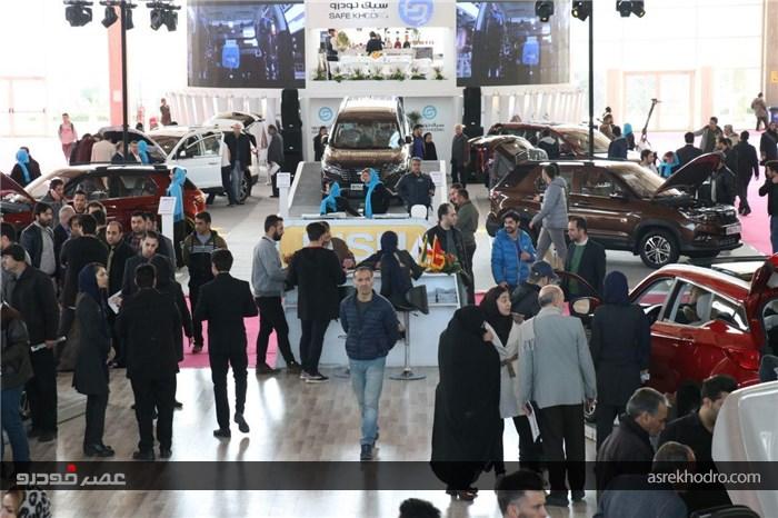 سومین نمایشگاه خودرو تهران به روایت تصویر