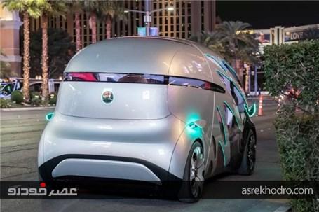 طرح مفهومی جدیدترین خودرو الکتریکی خودران مرسدس بنز رونمایی شد