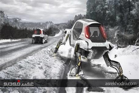 خودروی عنکبوتی هیوندای در نمایشگاه سیایاس 2019