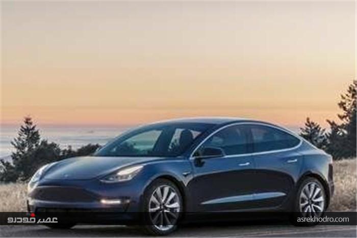 خودروی برقی تسلا در لیست پرفروشهای آمریکا