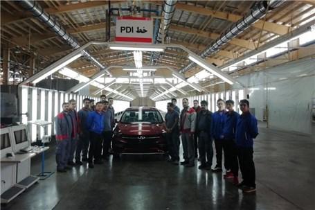 افتتاح خط تولید چری آریزو6 در کارخانه جدید مدیران خودرو