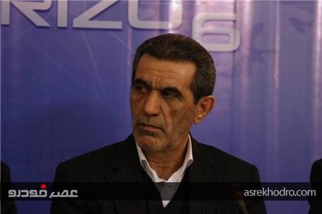 نگرانی بابت خروج چری از ایران نداریم