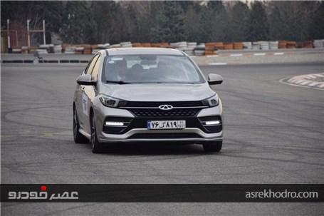 تجربه رانندگی با لوکسترین سدان چری در ایران