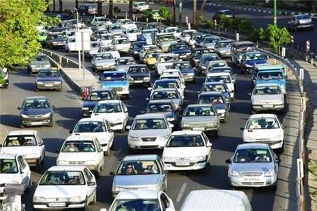 اعلام آخرین وضعیت ترافیک معابر بزرگراهی تهران