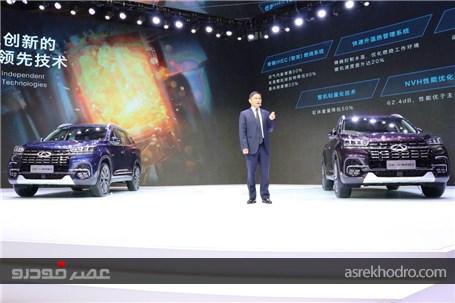 درخشش چری تیگو 8 در نمایشگاه خودرو شانگهای 2019