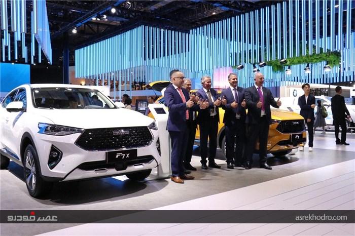 گزارش تصویری از بزرگترین نمایشگاه خودرو آسیا در سال ٢� ١٩
