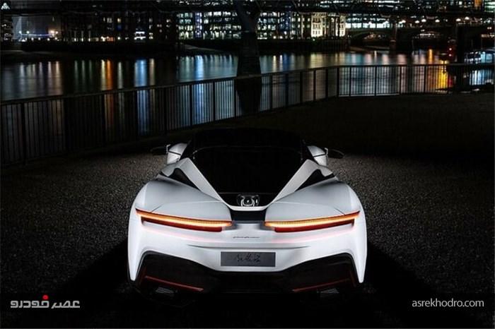 ابر خودروی الکتریکی 2.5 میلیون دلاری نمایش داده شد