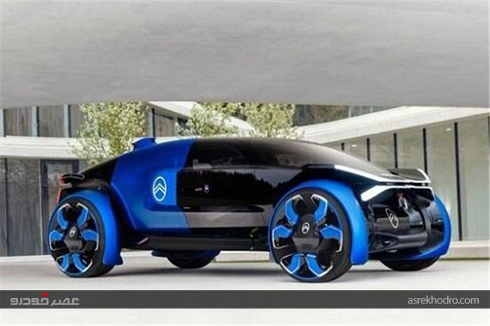 تولید خودروی برقی سیتروئن با کابین هلیکوپتری