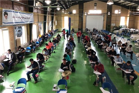 آزمون جامع امدادگران شرکت مدیران خودرو برگزار شد