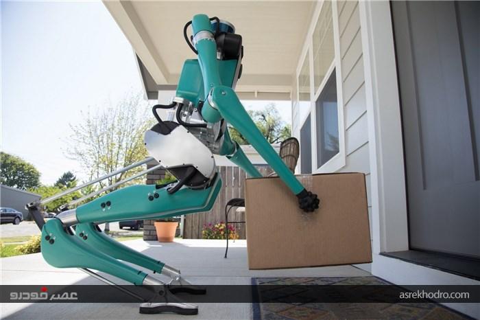 روبات دو پای فورد برای حمل و نقل پستی (+عکس)
