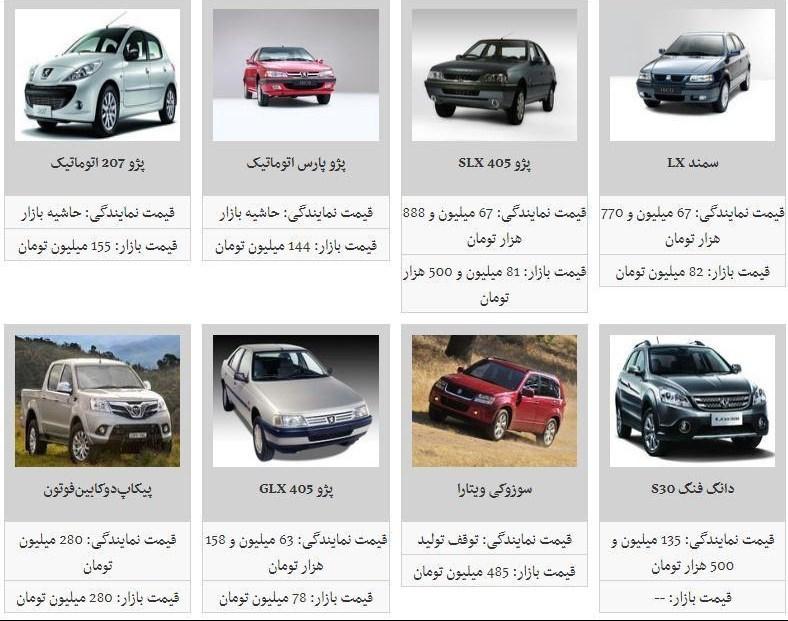 کدام خودروهای داخلی کاهش قیمت داشته است؟