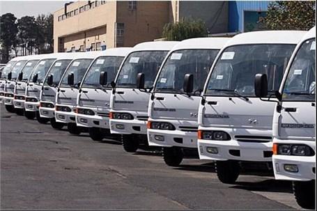 تحویل هزار دستگاه مینی بوس شهری به ناوگان حمل و نقل عمومی کشور