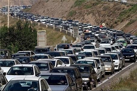 ترافیک سنگین در مرزهای 4 گانه منتهی به عراق