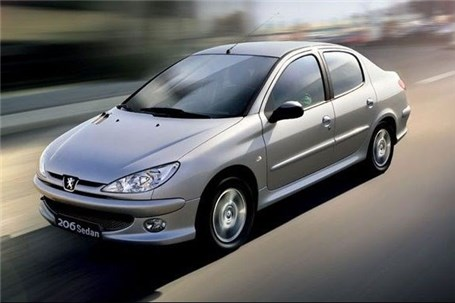 قیمت جدید پژو 206 صندوقدار V8 اعلام شد
