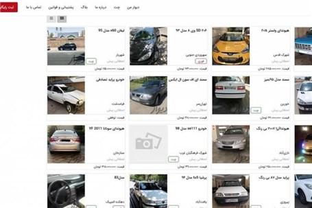 بازگشت قیمت خودرو به سایتها