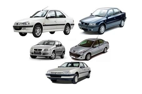ثبات قیمت محصولات ایران خودرو در بازار