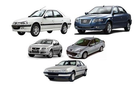 قیمت محصولات ایران خودرو در سال ۹۴
