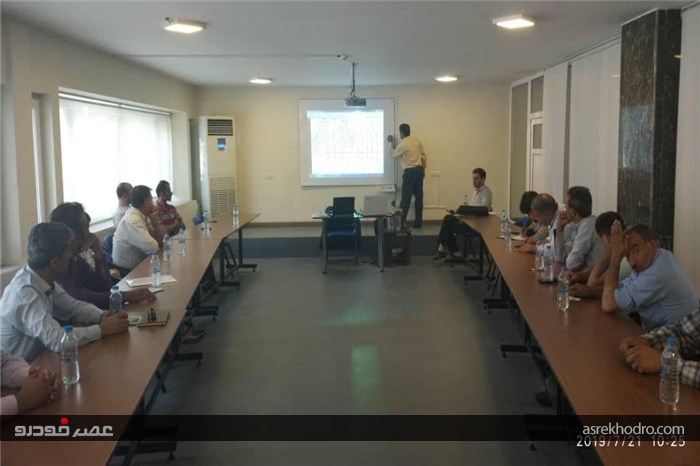 برگزاری دوره آموزشی برق کشنده 2640 در راستای افزایش دانش فنی نمایندگان آمیکو