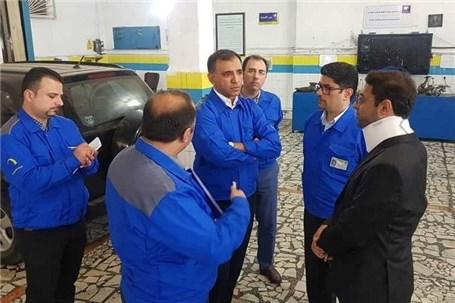 بازدید مدیران خدمات پس از فروش ایرانخودرو از اکیپهای امدادی مستقر در جاده هراز و نمایندگیهای شهر بابل