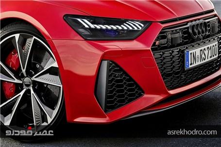 نسل جدید آئودی RS7 رونمایی شد