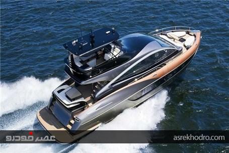 نمایی از قایق 3/5 میلیون دلاری لکسوس + تصاویر