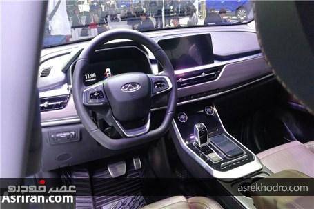 خودروی جدید بازار ایران در حال تست فنی در خیابان (