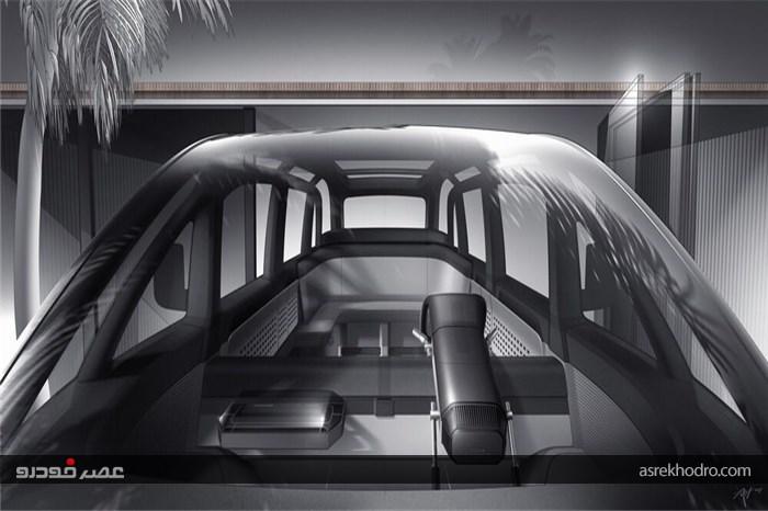حمل و نقل آینده نگرانه با ون برقی Canoo