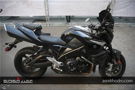 توقیف موتورسیکلت سنگین چند صد میلیونی در نازیآباد