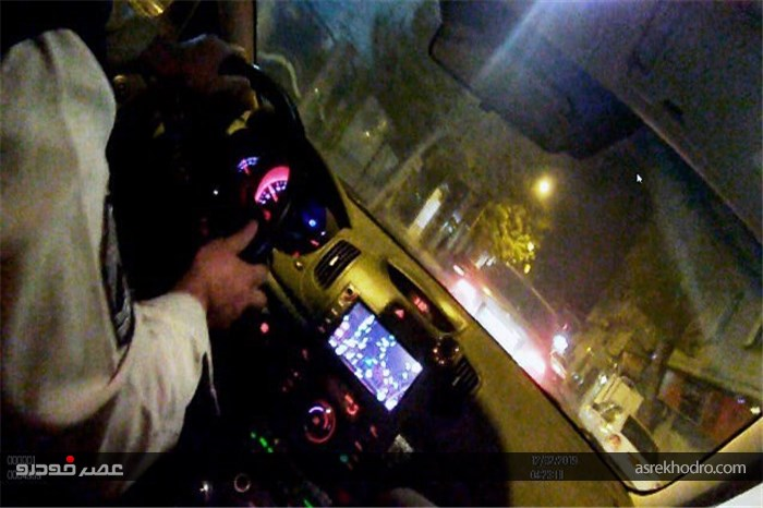 تصاویر تعقیب و گریز در بزرگراه امام علی / شلیک 6 تیر و دستگیری سارق