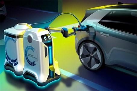 رباتهای شارژری که به دنبال خودروهای برقی میروند