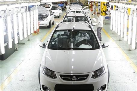 تولید ۵۴۳ هزار دستگاه خودروی سواری تا آبان
