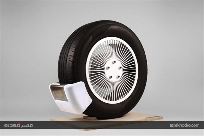 دستگاه جمع آوری میکروپلاستیکها از تایرهای خودرو!
