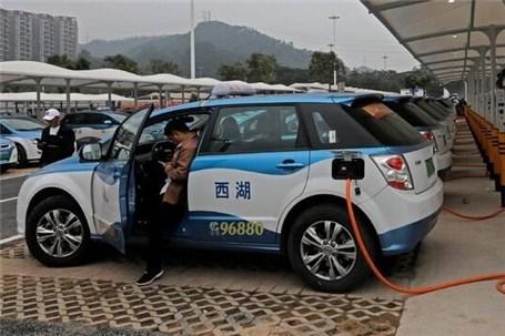 برنامه چین برای خودروهای برقی