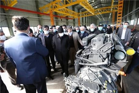 بازدید وزیر صمت از شهرک تخصصی تولید کامیون و کامیونت