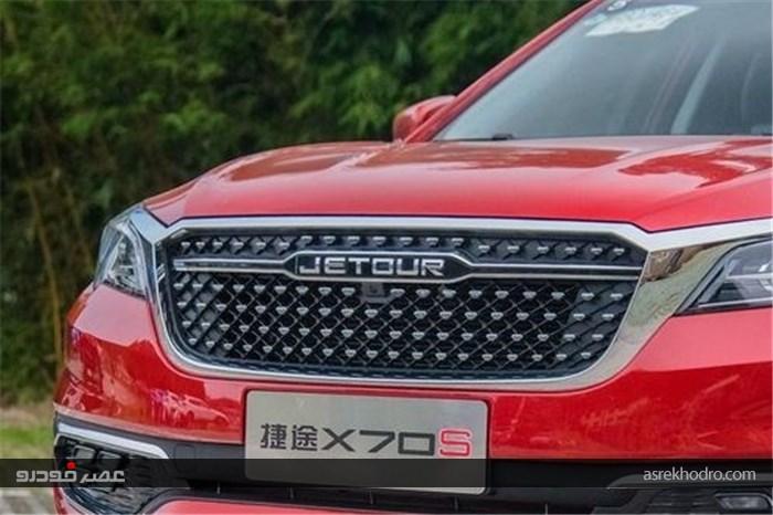 جتور X70S؛ کراس اوور چینی با احتمال حضور در بازار ایران +عکس