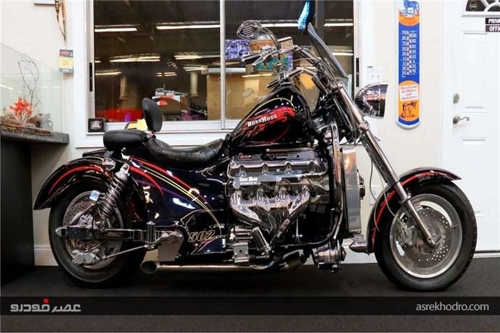 موتورسیکلت باس هاس 502 معرفی شد