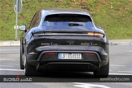 رونمایی پورشه از خودرو Porsche Taycan Cross Turismo 2022